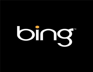 Bing has become the first advertiser on Facebook's recently launched log-out page ad spot.