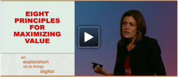 At ad:tech New York 2011, Wendy Clark of Coca-Cola Company delivered an exceptional keynote on core principles to maximize brand value.