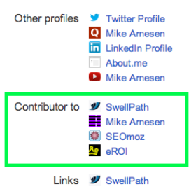 Arnesen &quot;Contributor to&quot; on Google+