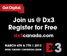 Brafton will be in Toronto, Canada, on March 6th and 7th at Dx3 (booth 820).