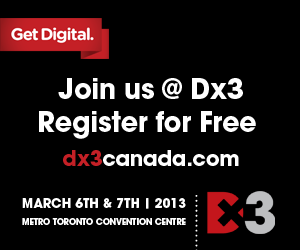​Brafton will be in Toronto, Canada, on March 6th and 7th at Dx3 (booth 820).