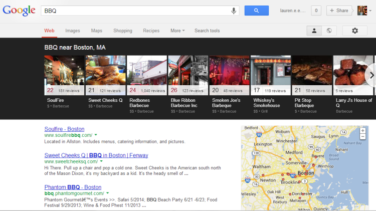 New Google local search results change local SEO results.
